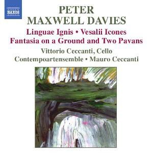 Maxwell Davies - Linguae ignis- Vesalii icones